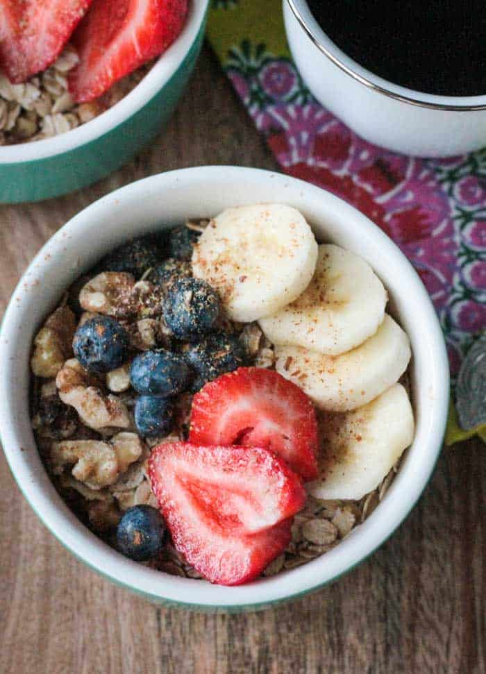 Banana Berry Breakfast Bowl