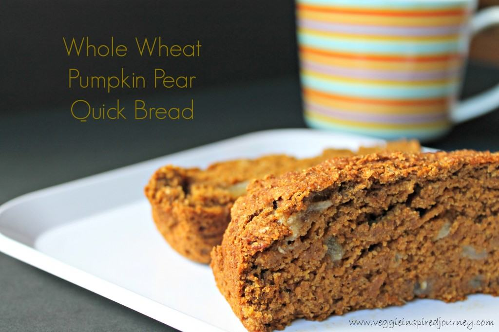 Pumpkin Pear Quick Bread
