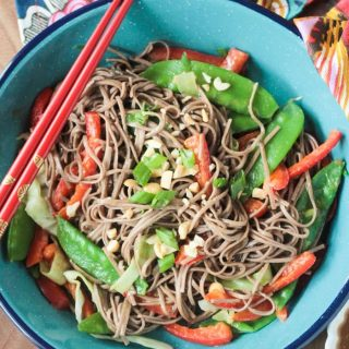 Soba Noodle Stir Fry (15 Minute Recipe!)