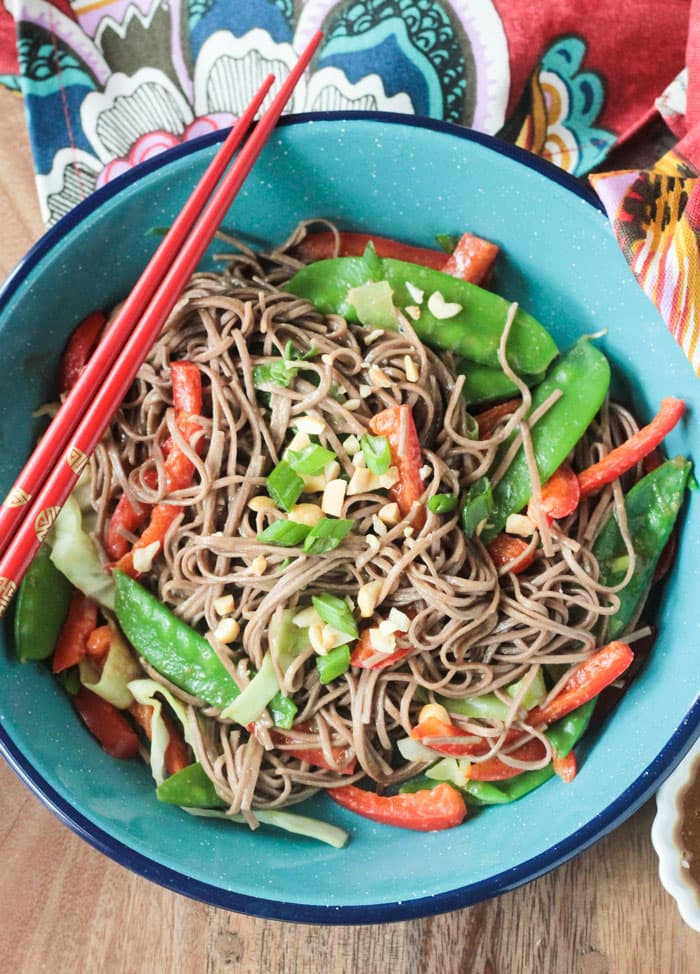 Soba Noodle Stir Fry 15 Minute Recipe Veggie Inspired