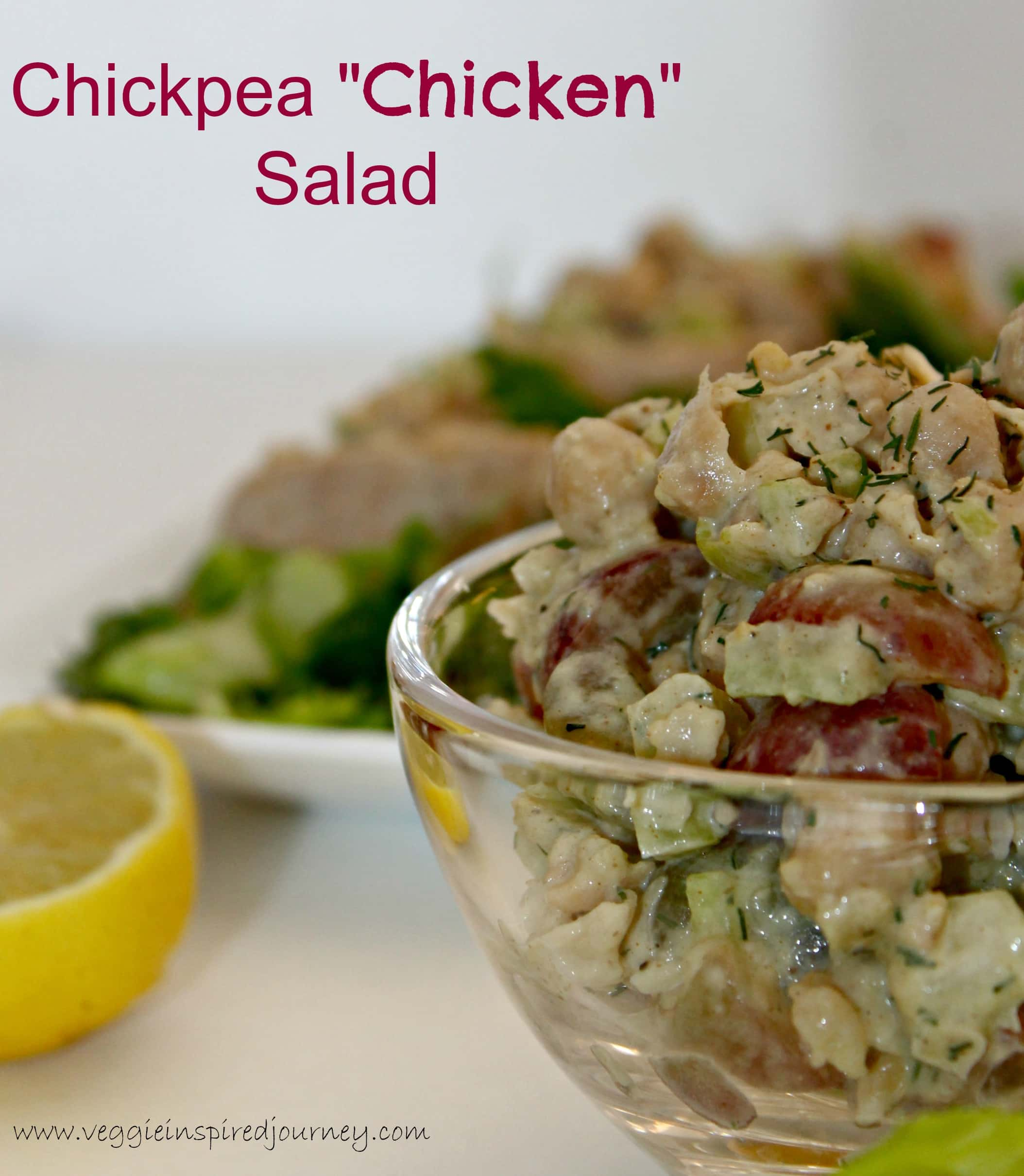 "Chickpea ""Chicken"" Salad"