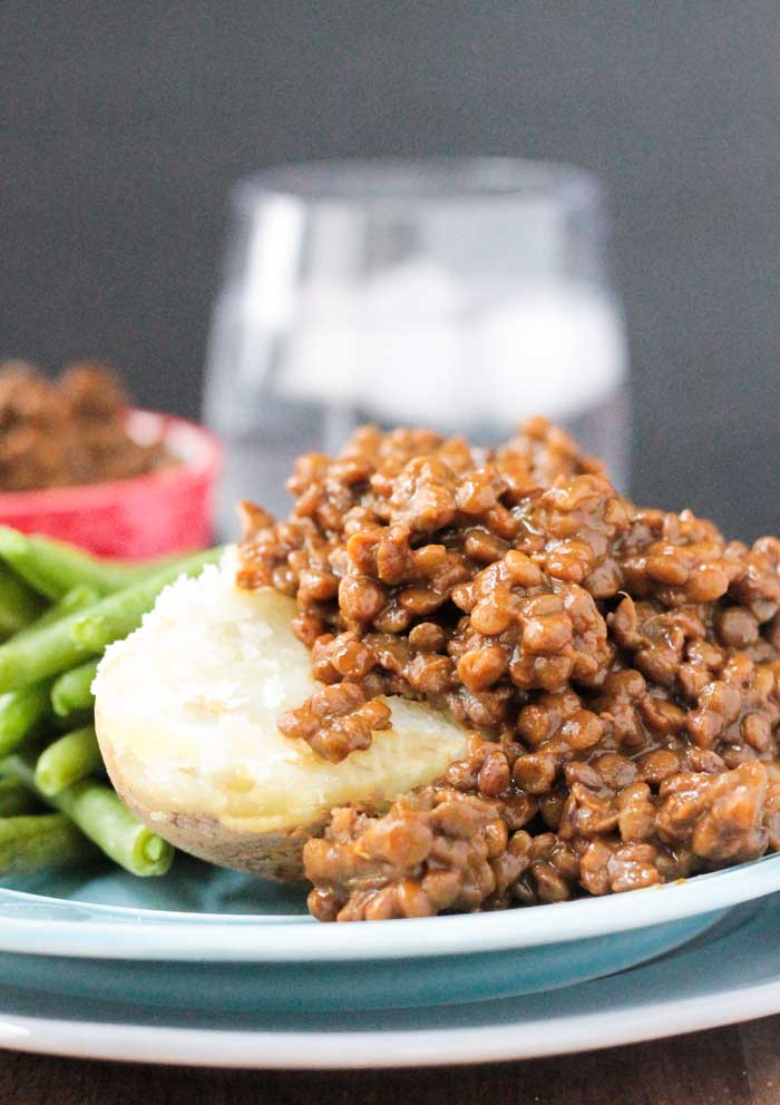 Sweet & Smoky BBQ Lentils
