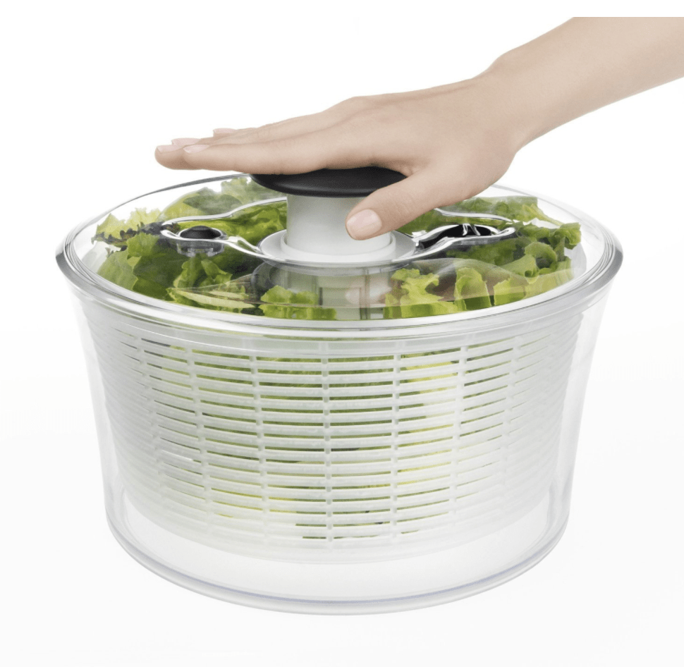 Plant Based Kitchen Essentials List: Salad Spinner