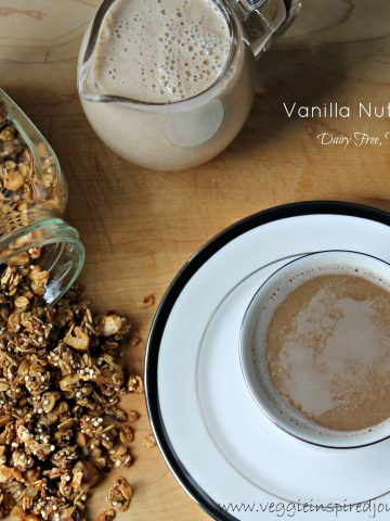 Vanilla Nut Creamer (Dairy Free, Vegan)