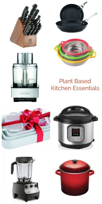 Plant Based Kitchen Essentials List   Small Appliances, Kitchen Gadgets,  And Cookware To Make