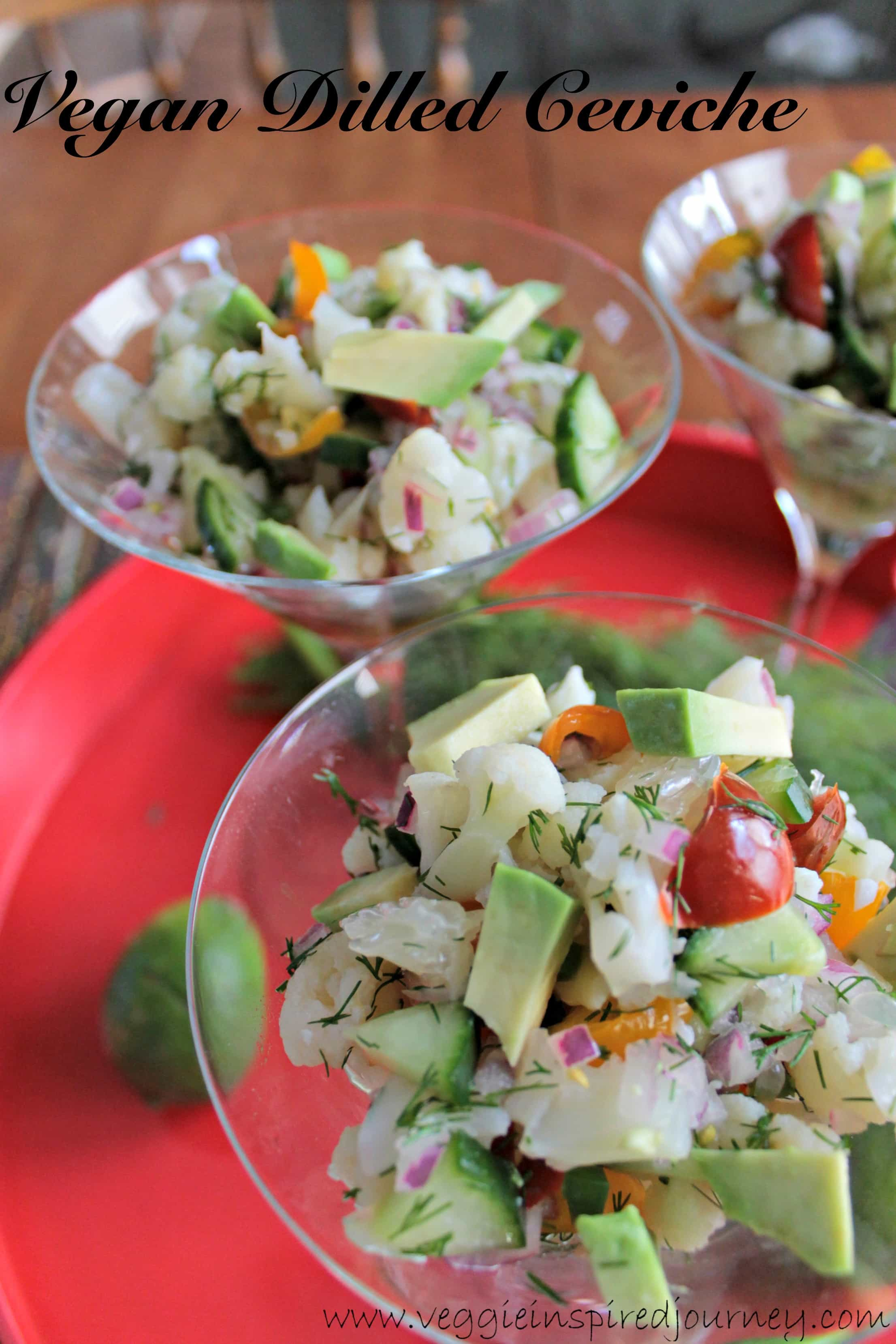 Dilled Vegan Ceviche – Virtual Vegan Potluck