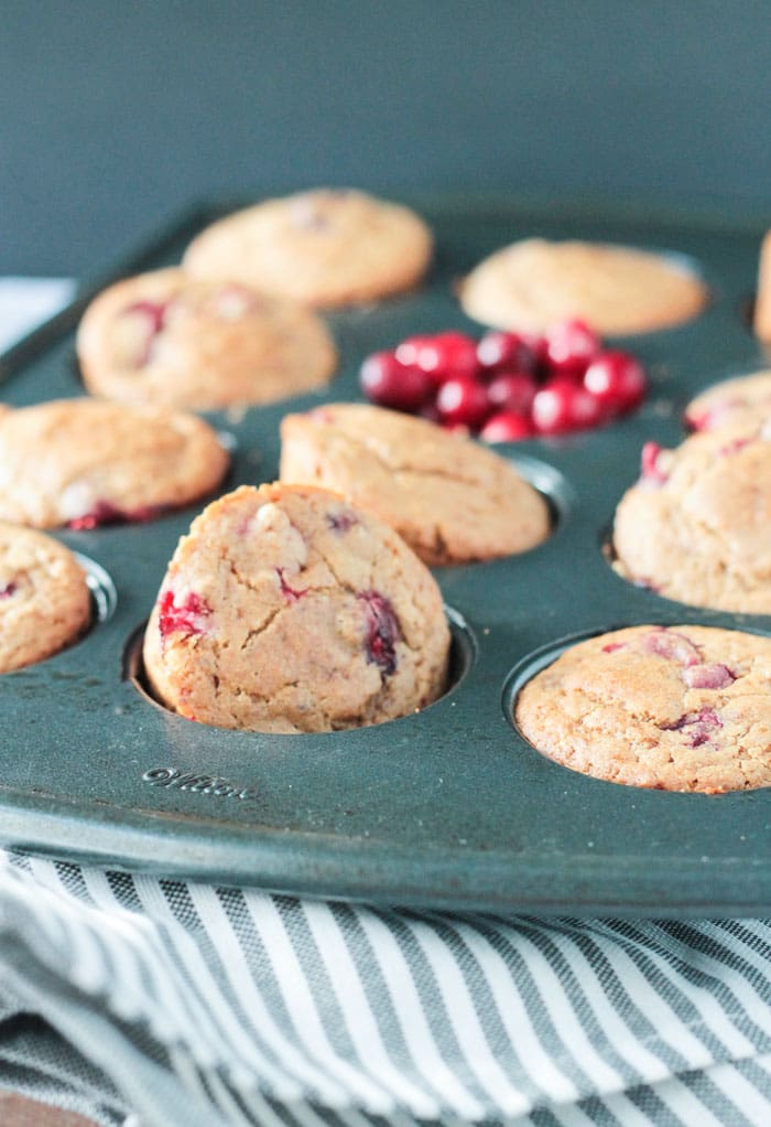 Cranberry Almond Muffins