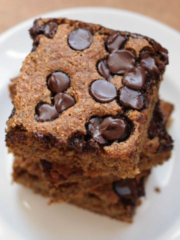 Banana Chocolate Chip Snack Cake