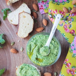 Mixed Greens Almond and Pepita Pesto