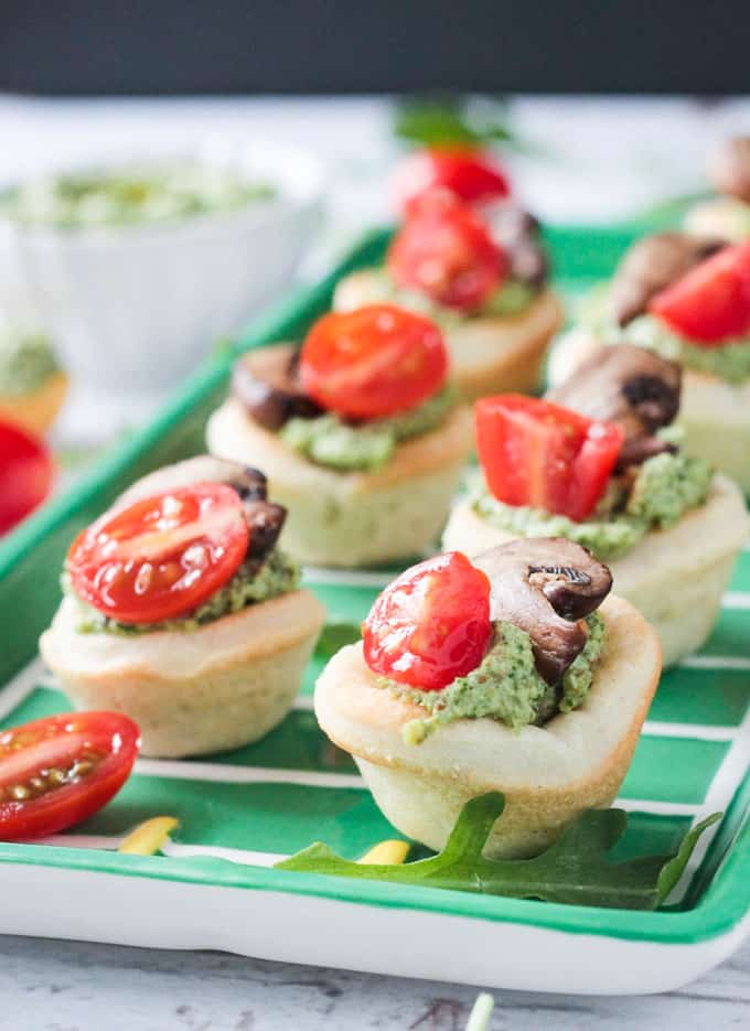 Vegan Pizza Bites