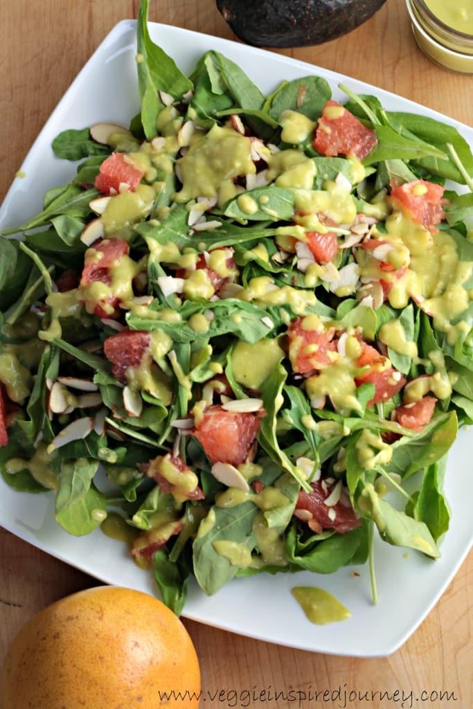 Arugula & Grapefruit Winter Salad