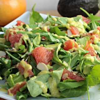 Arugula & Grapefruit Winter Salad