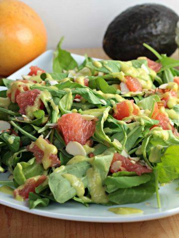 Arugula & Grapefruit Salad