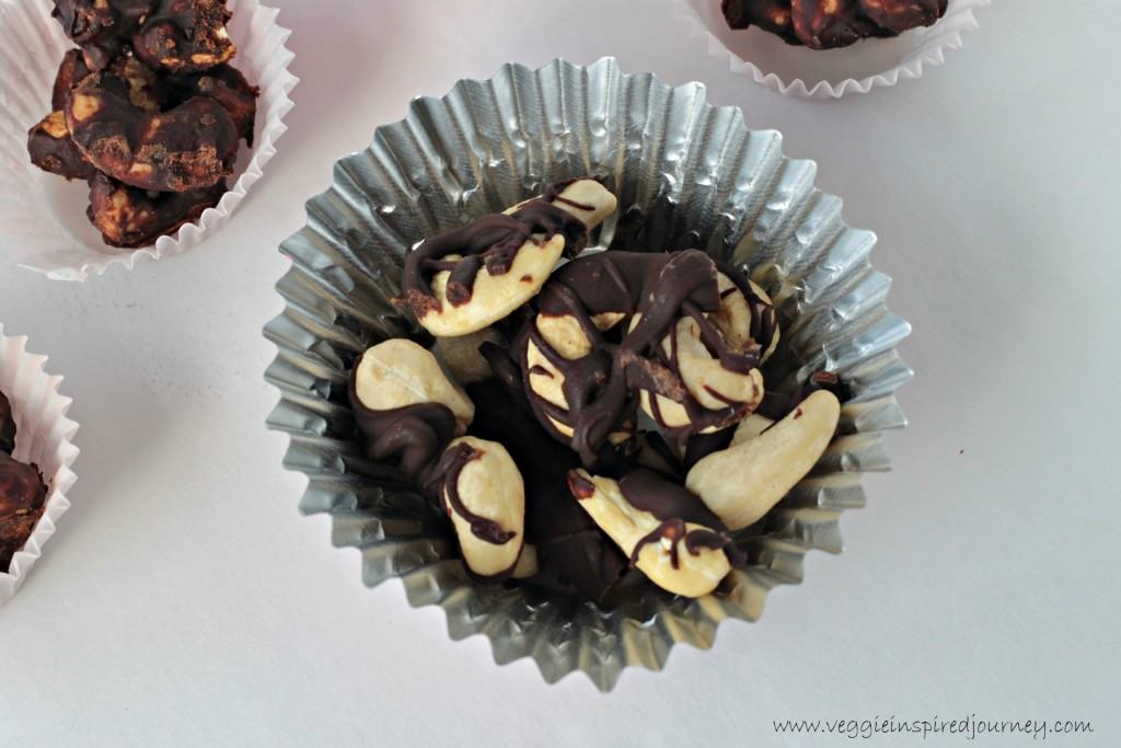 Mexican Spiced Chocolate Covered Cashews