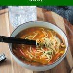 Ramen Noodle Soup image for Pinterest