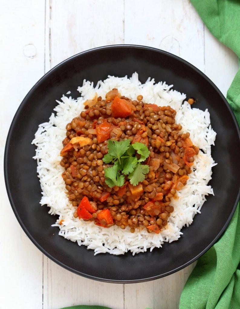 Vegan Richa's Indian Kitchen Masala Lentils