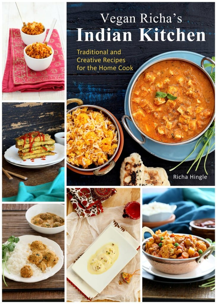 Vegan Richa's Indian Kitchen Review and Giveaway