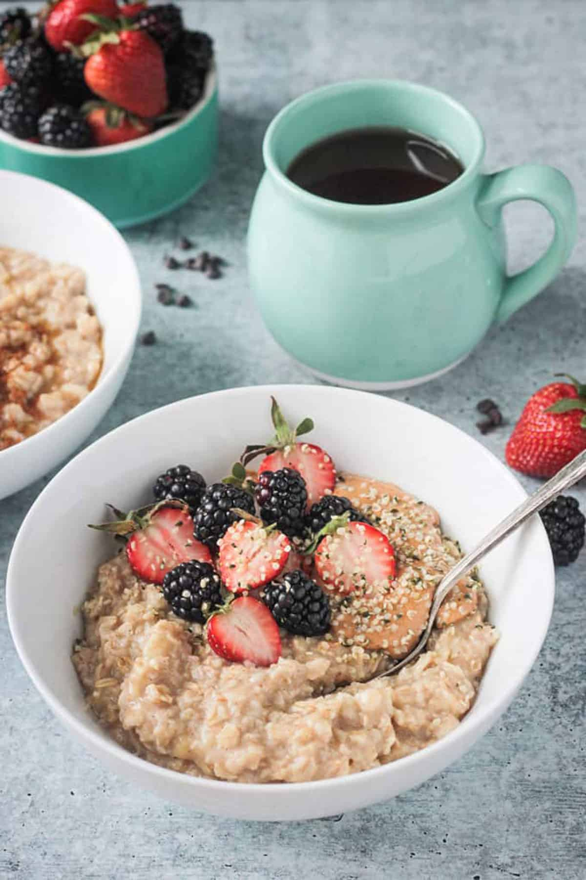 Easy Sweet Creamy Customizable Healthy Oatmeal Dairy Free