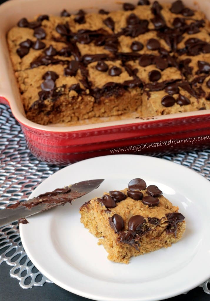 Chocolate Chip Quinoa Snack Cake