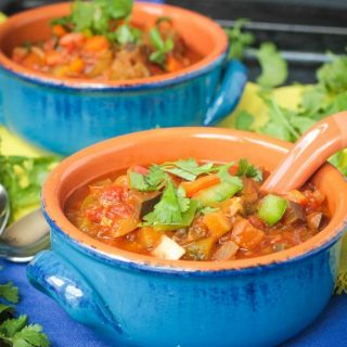 Spicy Beanless Garden Chili