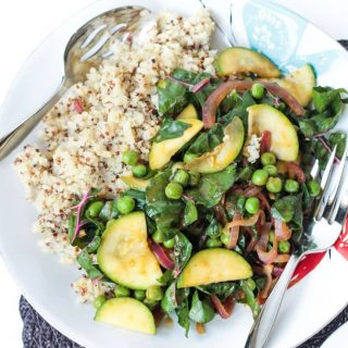 Quinoa with Garden Vegetables (Gluten Free)