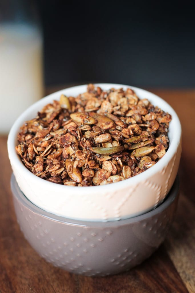 Chocolate Chai Granola