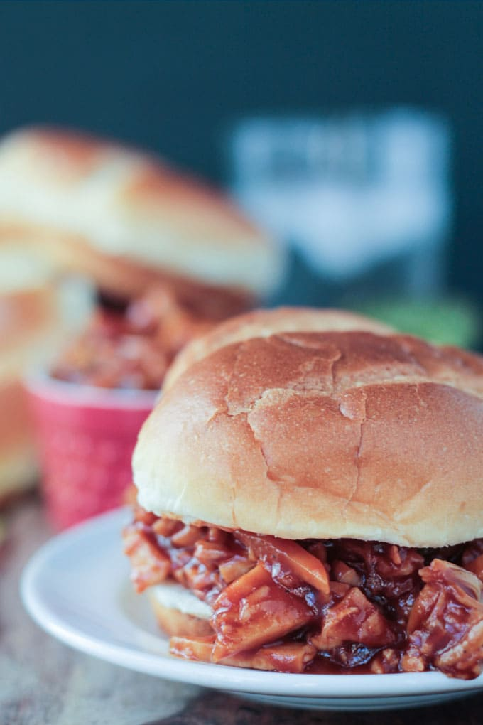 Cook the Pantry BBQ Jackfruit Sandwiches Pic
