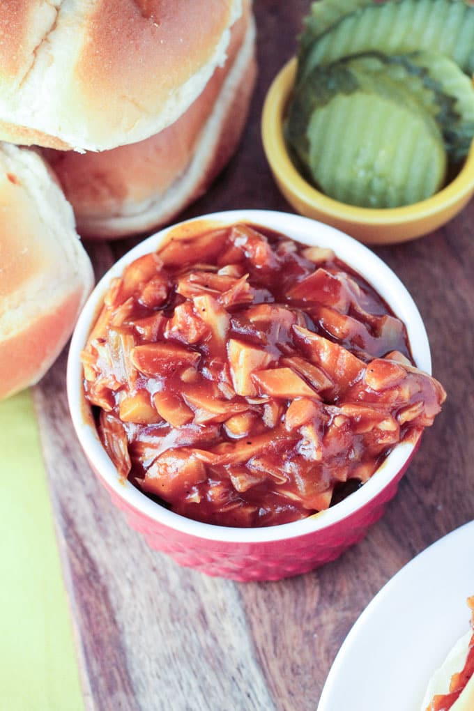 Cook the Pantry BBQ Jackfruit Sandwiches Image