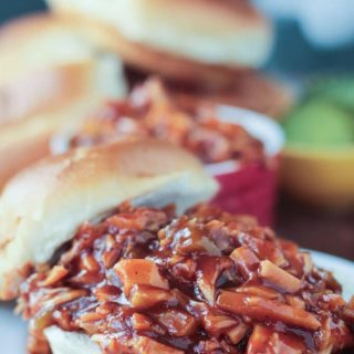 Cook the Pantry BBQ Jackfruit Sandwiches