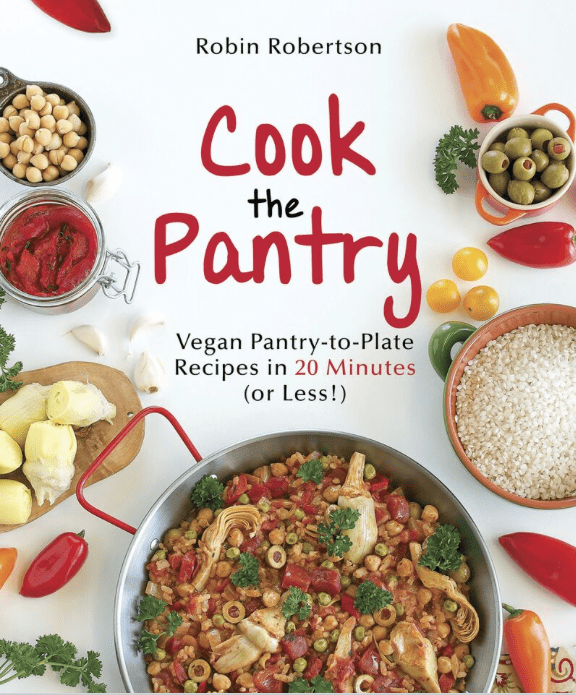 Cook the Pantry by Robin Robertson cookbook cover