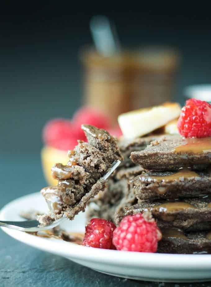 Gluten Free Buckwheat Pancakes