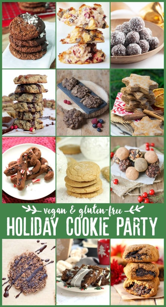 Vegan Gluten Free Holiday Cookie Party