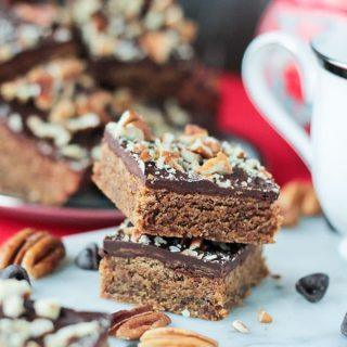 Classic Vegan Toffee Bars