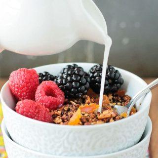 Crunchy Quinoa Breakfast Cereal (Gluten Free)