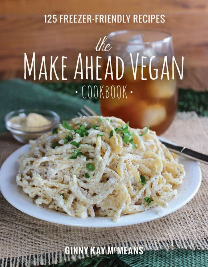 Make Ahead Vegan Cookbook Cover