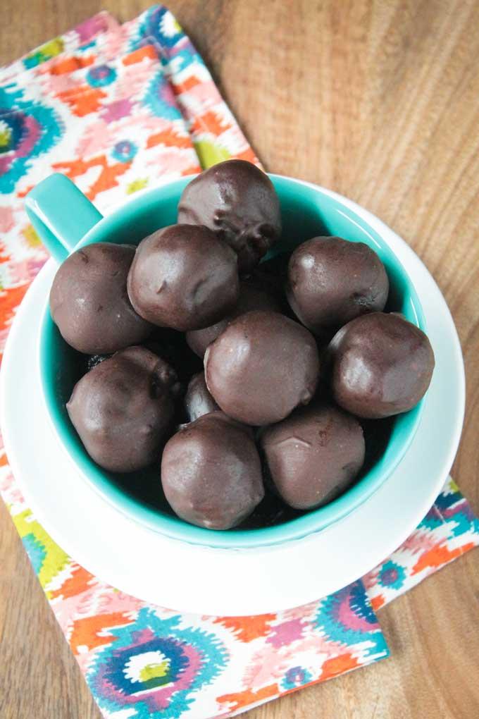 Cherry Chocolate Truffles