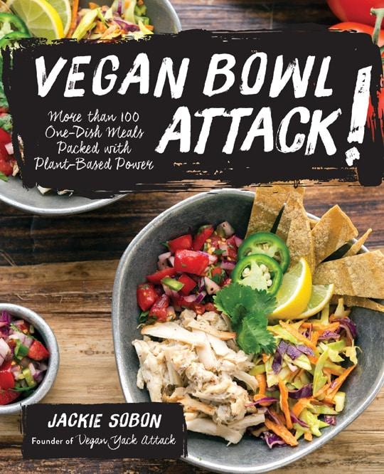 Vegan Bowl Attack cookbook cover