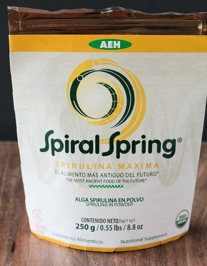 Creamy Dill Sauce w/ Spirulina