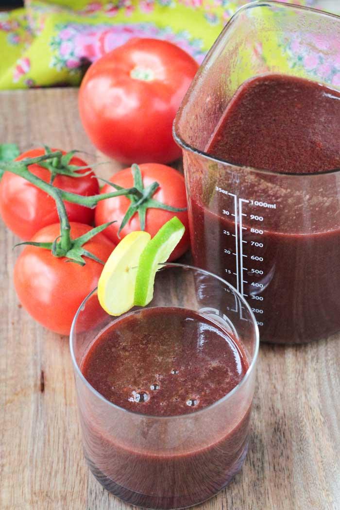 Spicy Tomato Juice