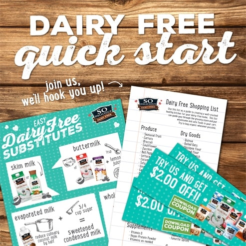 So Delicious Go Dairy Free Quick Start Guide