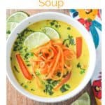 Curry Soup image for Pinterest