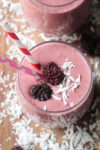 Coconut Blackberry Smoothie