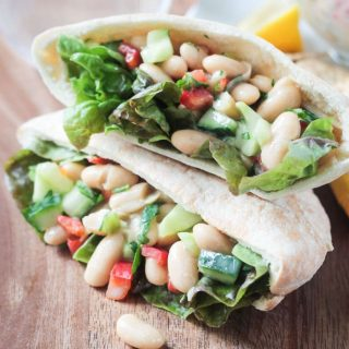 Quick & Easy White Bean Salad (vegan, gluten free)