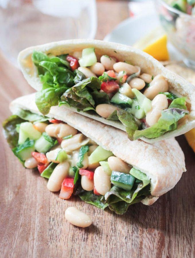 Quick & Easy White Bean Salad