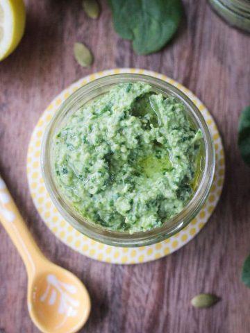 Spinach Artichoke Pesto