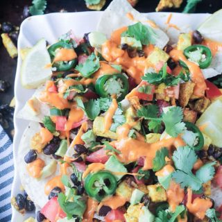 Breakfast Nachos from Veganize It + A Giveaway!