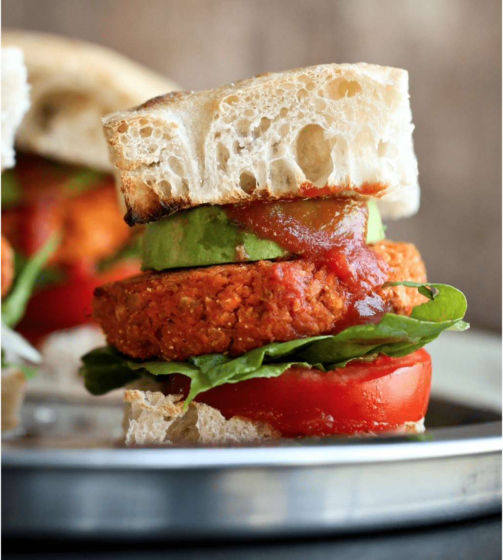 Vegan Chickpea Recipes - Barbecue Chickpea Burgers
