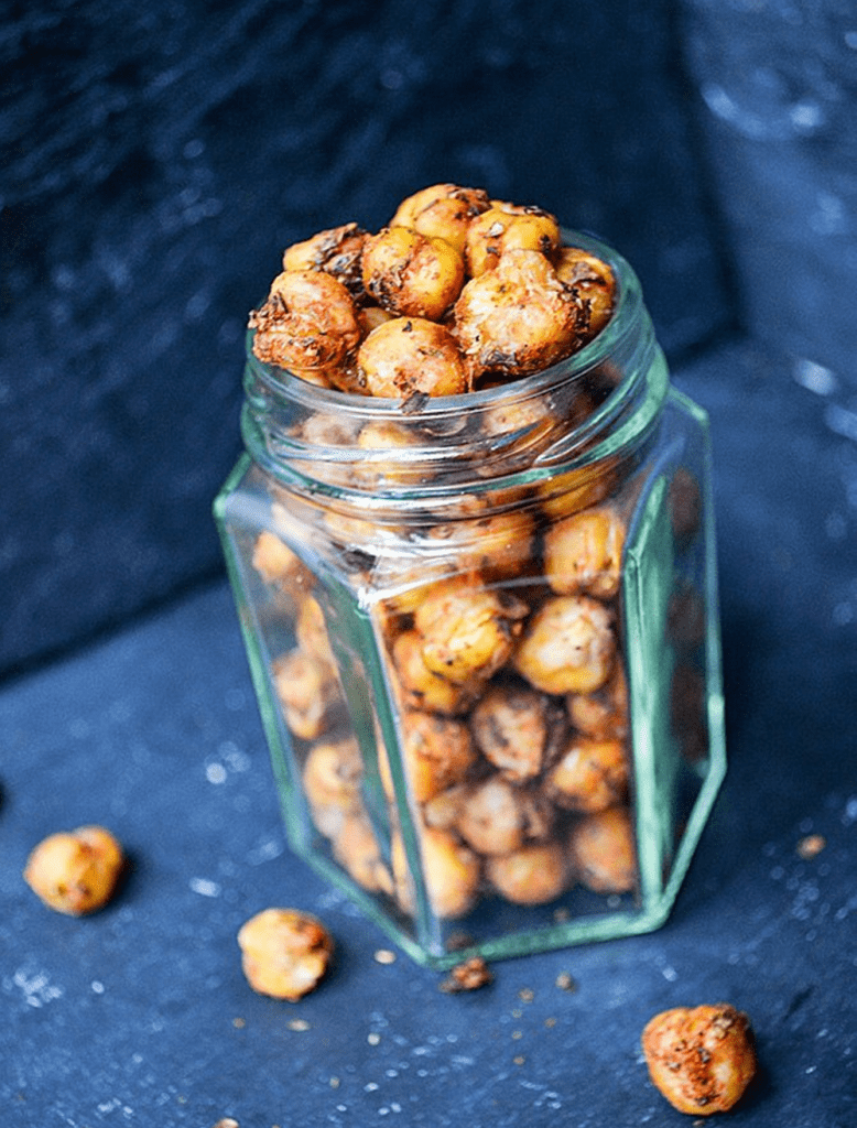 Vegan Chickpea Recipes - Chimichurri Roasted Chickpeas