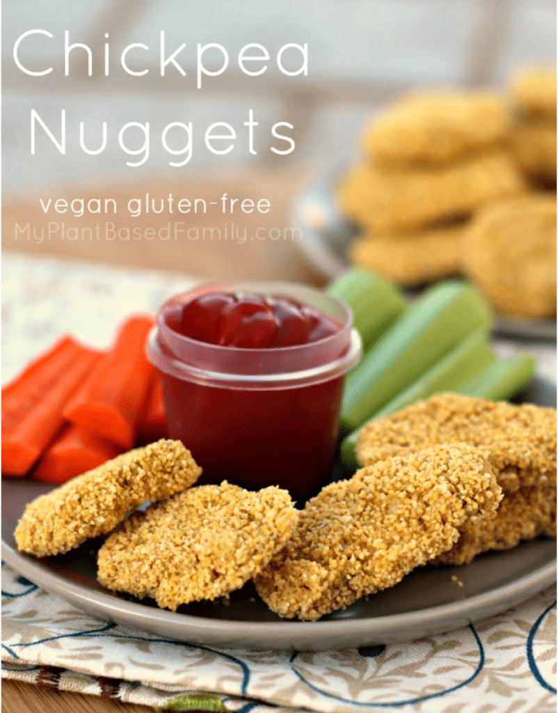 Vegan Chickpea Recipe - Chickpea Nuggets