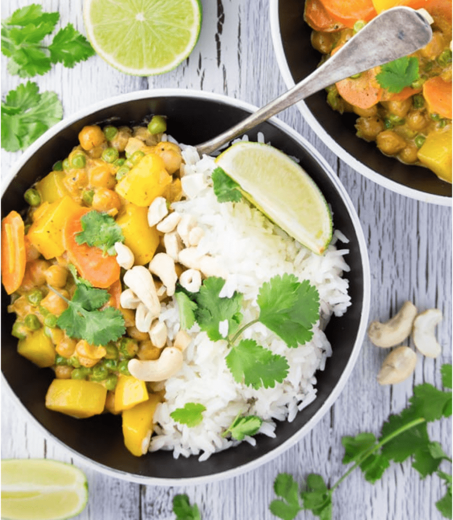 Vegan Chickpea Recipes - Easy Vegan Chickpea Curry